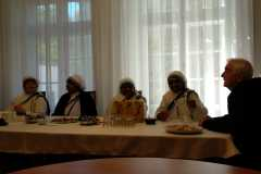 visita delle suore di Madre Teresa di Calcutta
